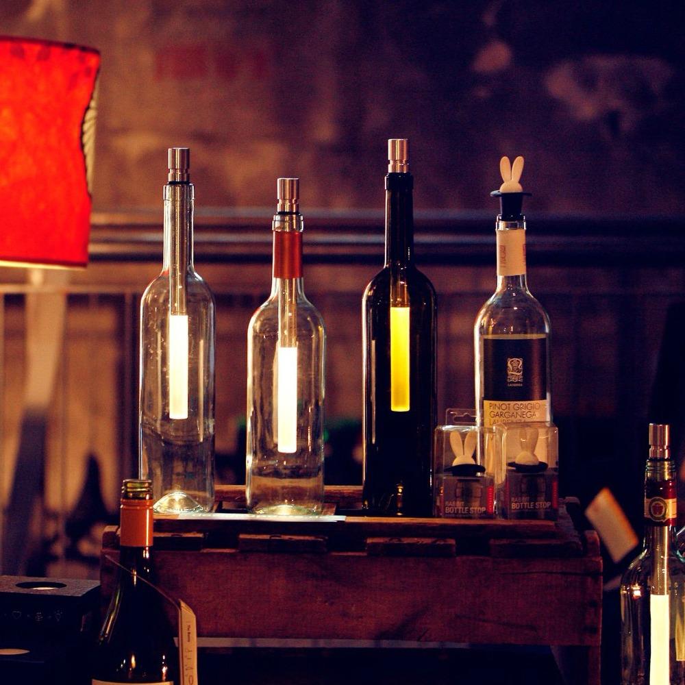 Bottle Light Flaschenlampe - Die hübsche Beleuchtung für Weinflaschen