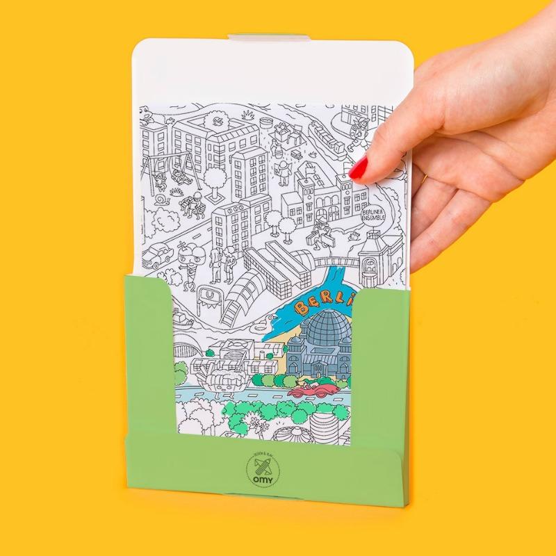 OMY Pocket Map My Berlin - Gestalte deinen eigenen Berlin-Plan