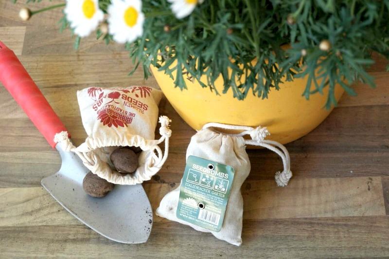 Die Samenbomben von den Stadtgärtnern - City Gardening für Weltverbesserer und Stadtpiraten