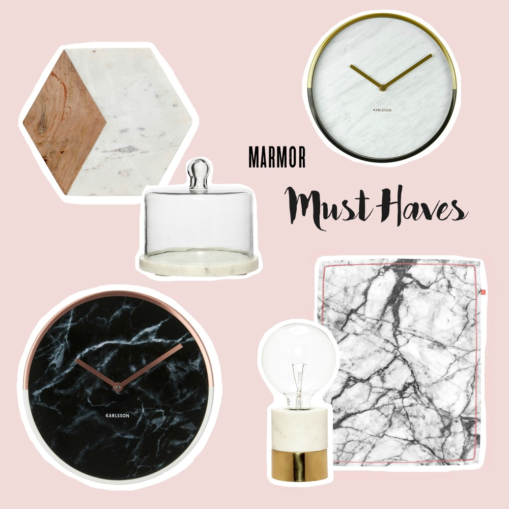 Marmor Must-Haves im designupdate Shop