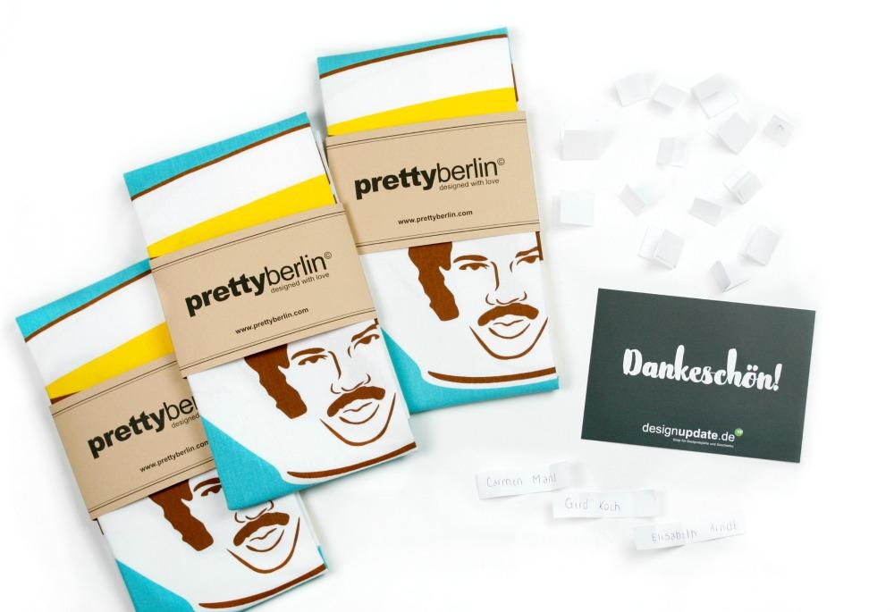 prettyberlin Tea Towel Hello - Gewinnspiel