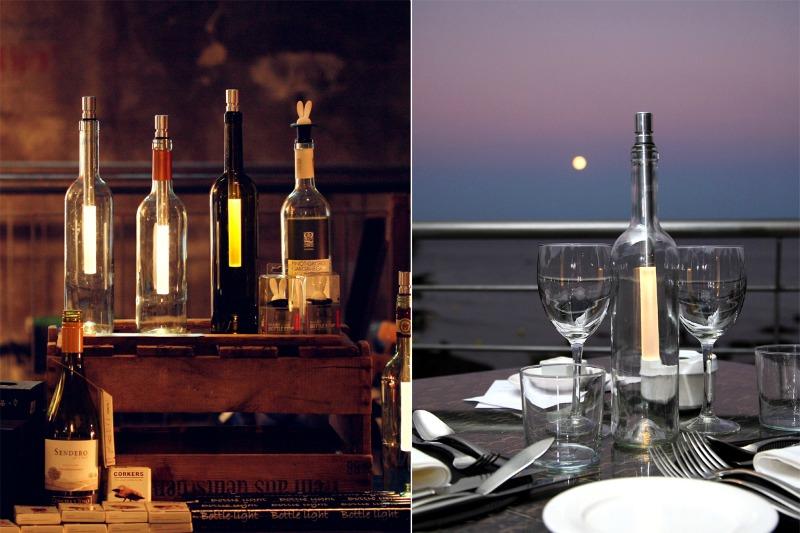 Bottle Light - Die tolle Flaschenlampe für leere Weinflaschen im designupdate Shop