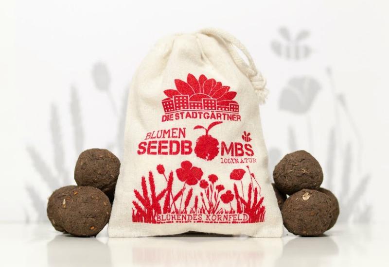 Die Seedbombs im Test: Samenbomben Blühendes Kornfeld von den Stadtgärtnern