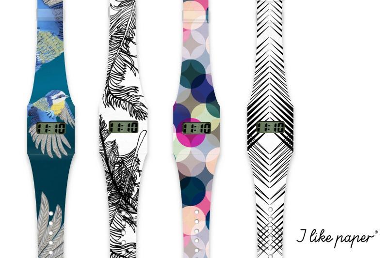 Pappwatch - Die Armbanduhr aus Tyvek im designupdate Shop