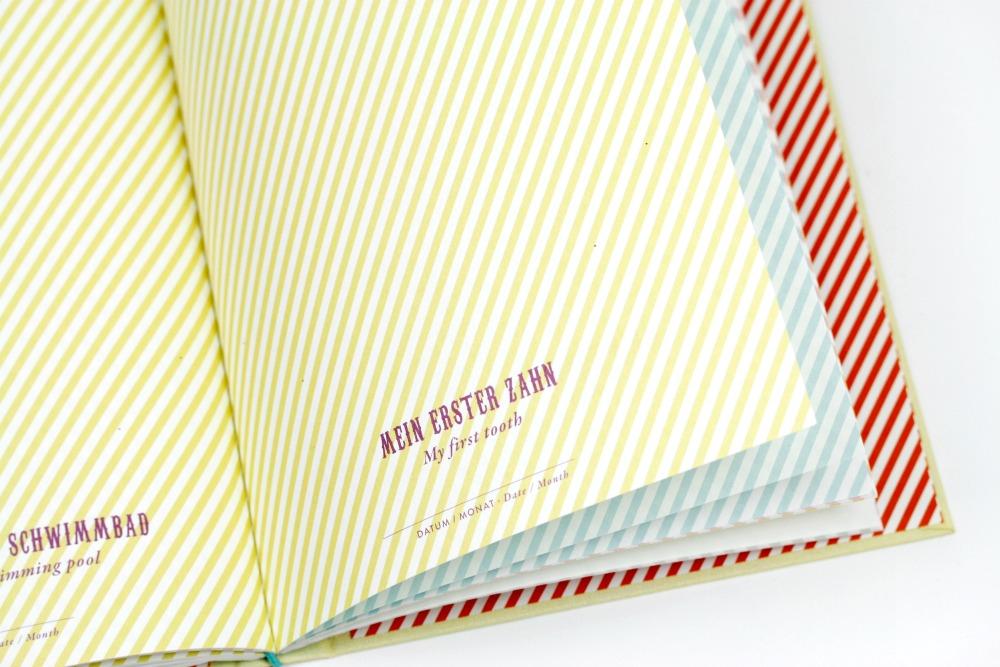 Baby Journal Little Circus (Mein erstes Jahr) - Das ganz besondere Babytagebuch