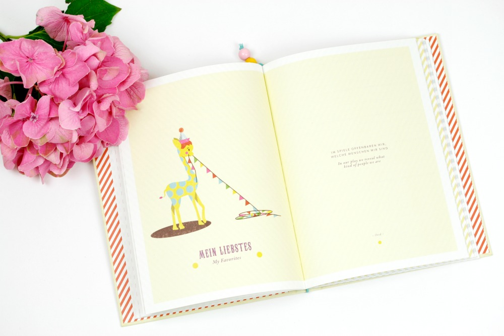 Baby Journal Little Circus: Das beste Babygeschenk ever