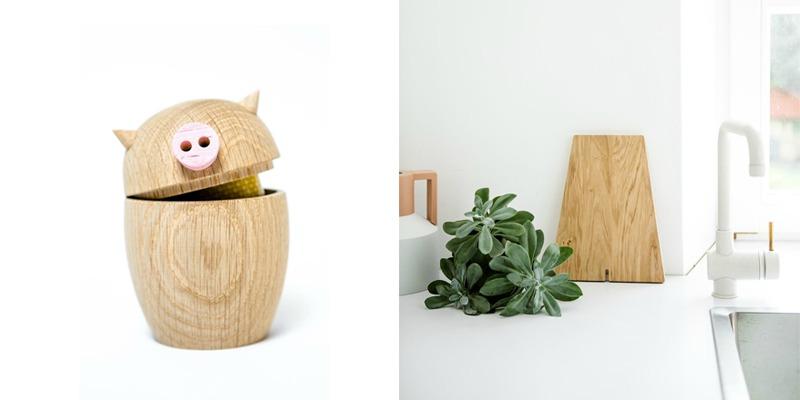 Calvin Schwein Dose + Buchstabenbrettchen von kitschcanmakeyourich