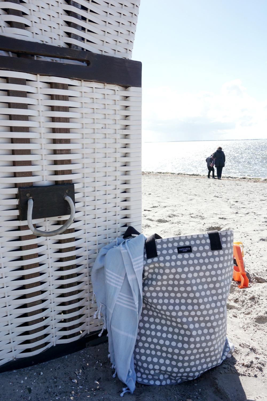 Urbane Strandtasche mit Extras von Aspegren Denmark
