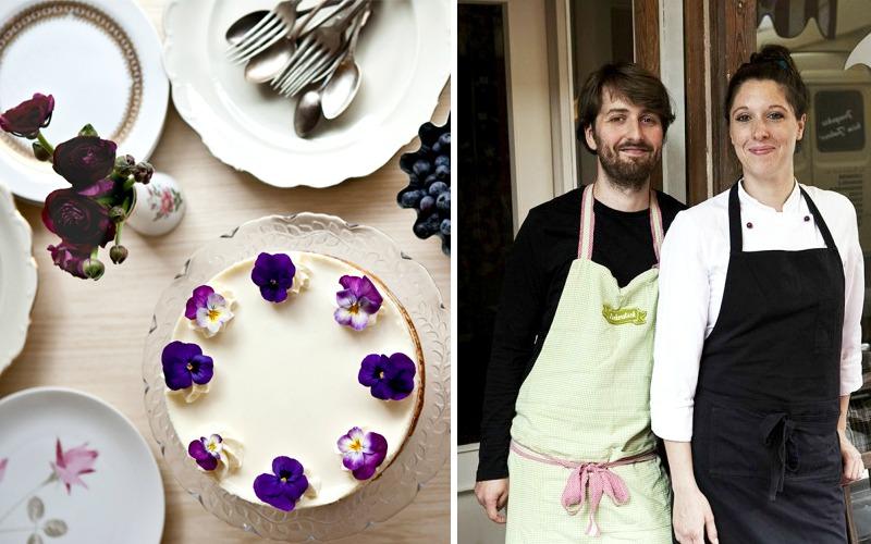 André Göbel und Lucie Krautien vom Café Zuckerstück