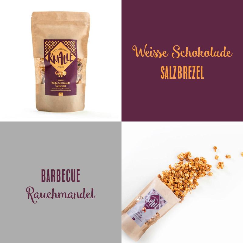 Handgemachtes Popcorn der Knalle Popkornditorei aus Berlin