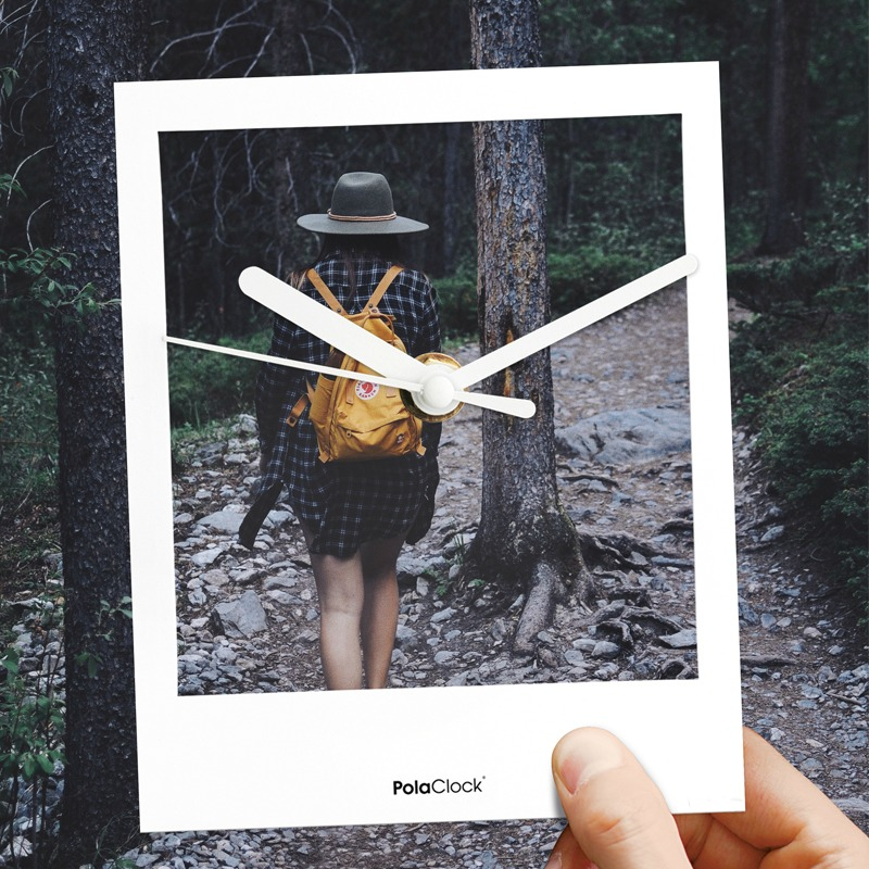 Polaclock - Die Uhr im Polaroid-Style