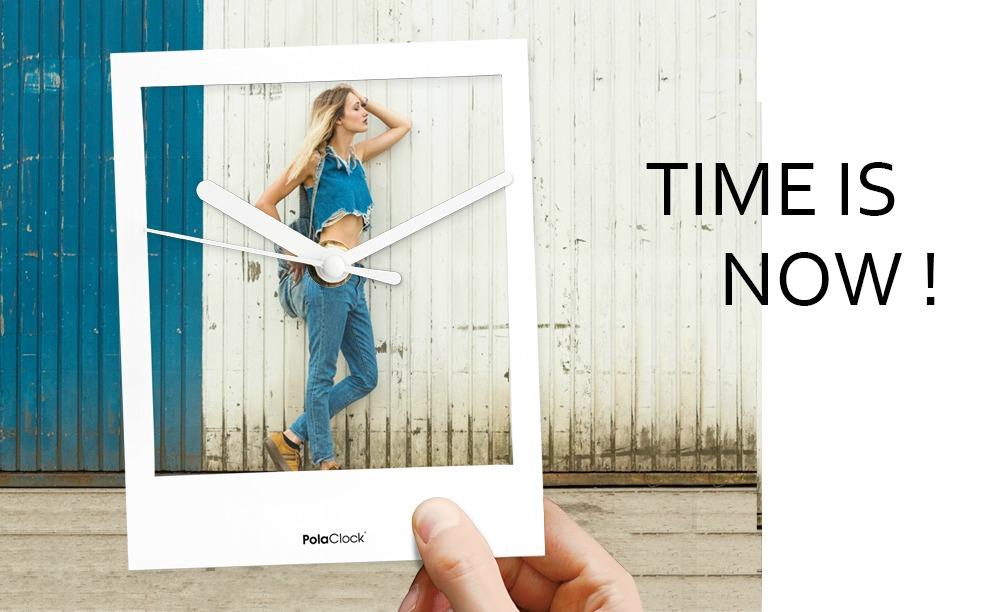 PolaClock – Die Trenduhr im Retro-Style