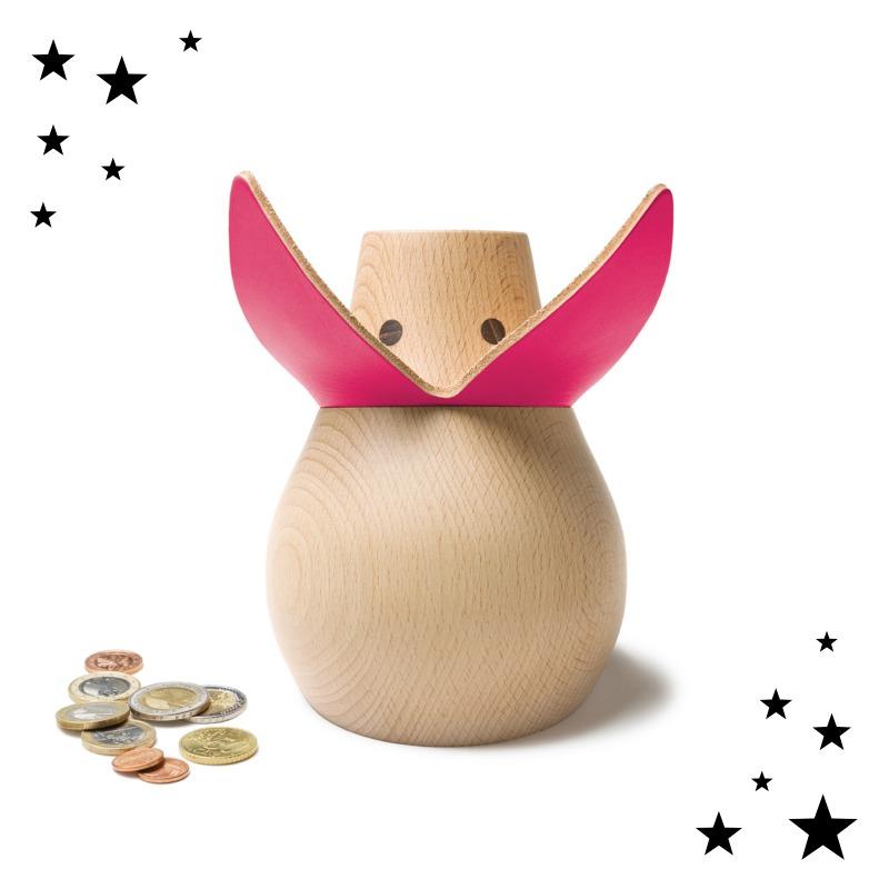 Tierische Adventszeit - Das Sparschwein Miss Monnipenni Pink Lady