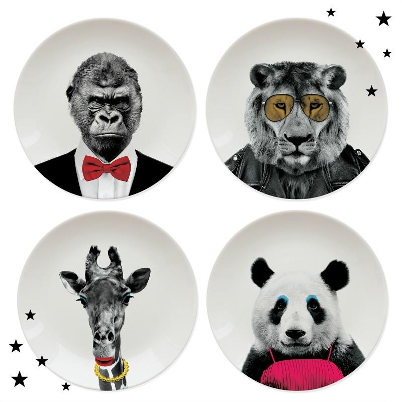 Entspannte Festtage mit Stil - Wild Dining Teller