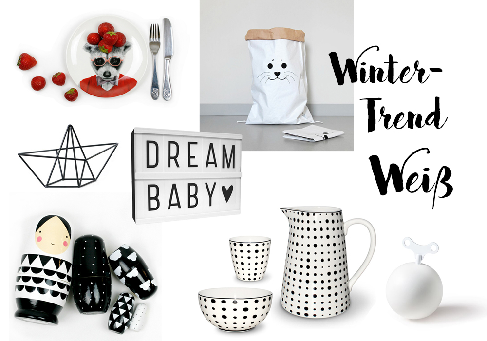 Alles in Weiß: Unsere Wintertrendfarbe 2016/2017