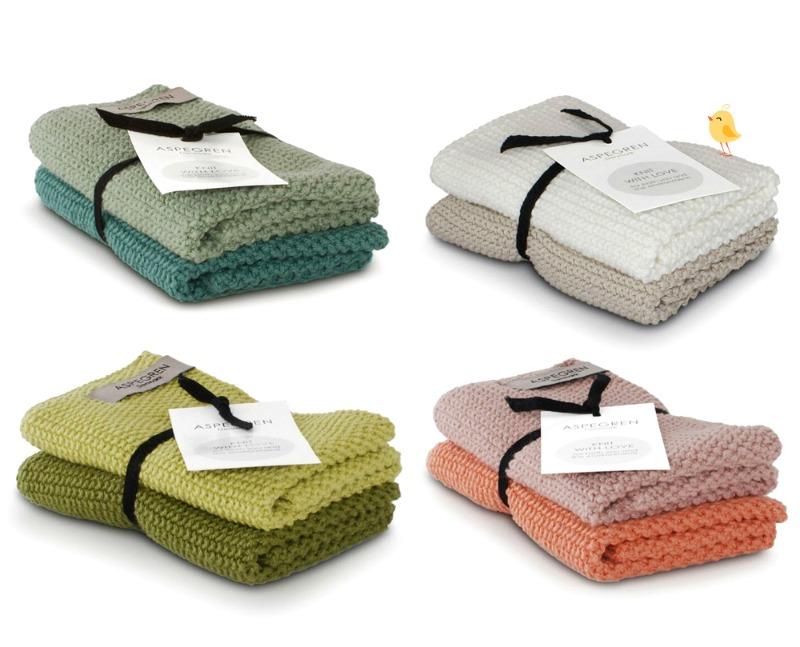 Wischtücher - Dishclothes Solid von Aspegren Denmark