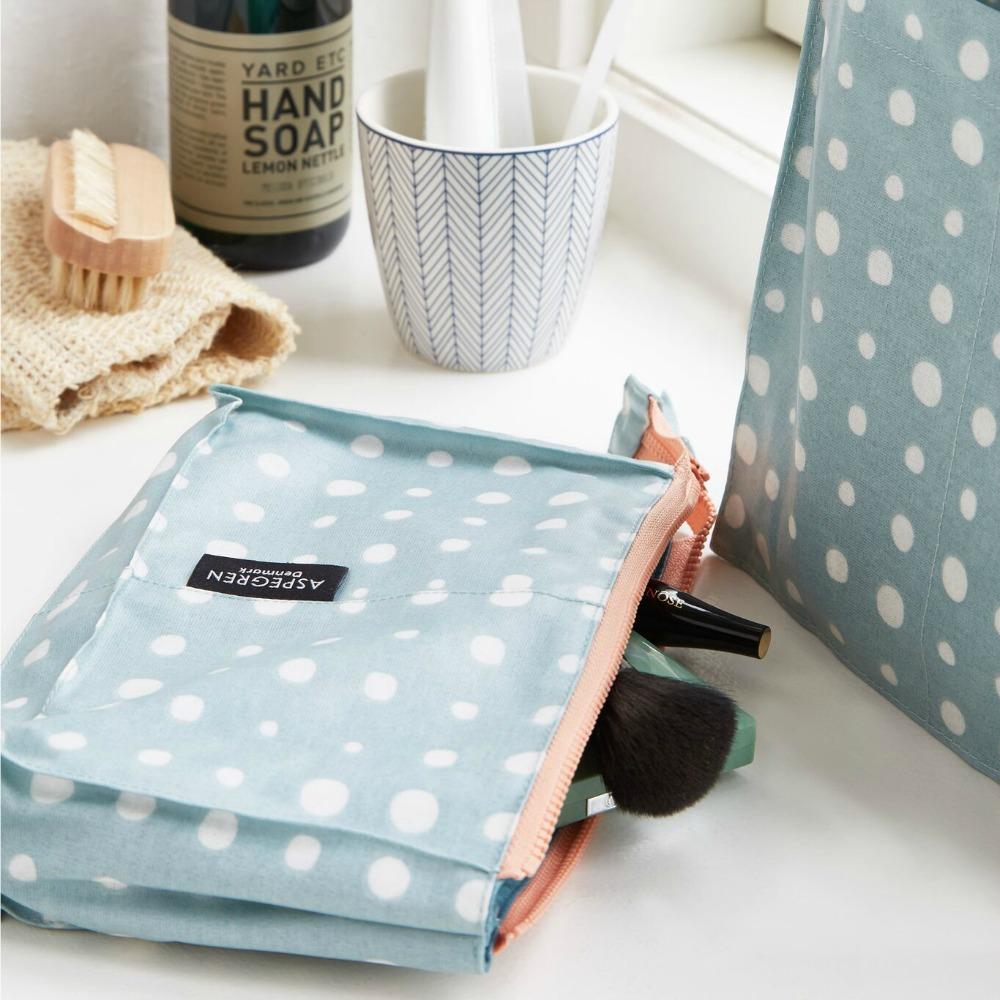 Geschenke zum Muttertag - Kosmetiktasche Pearl green von Aspegren Denmark