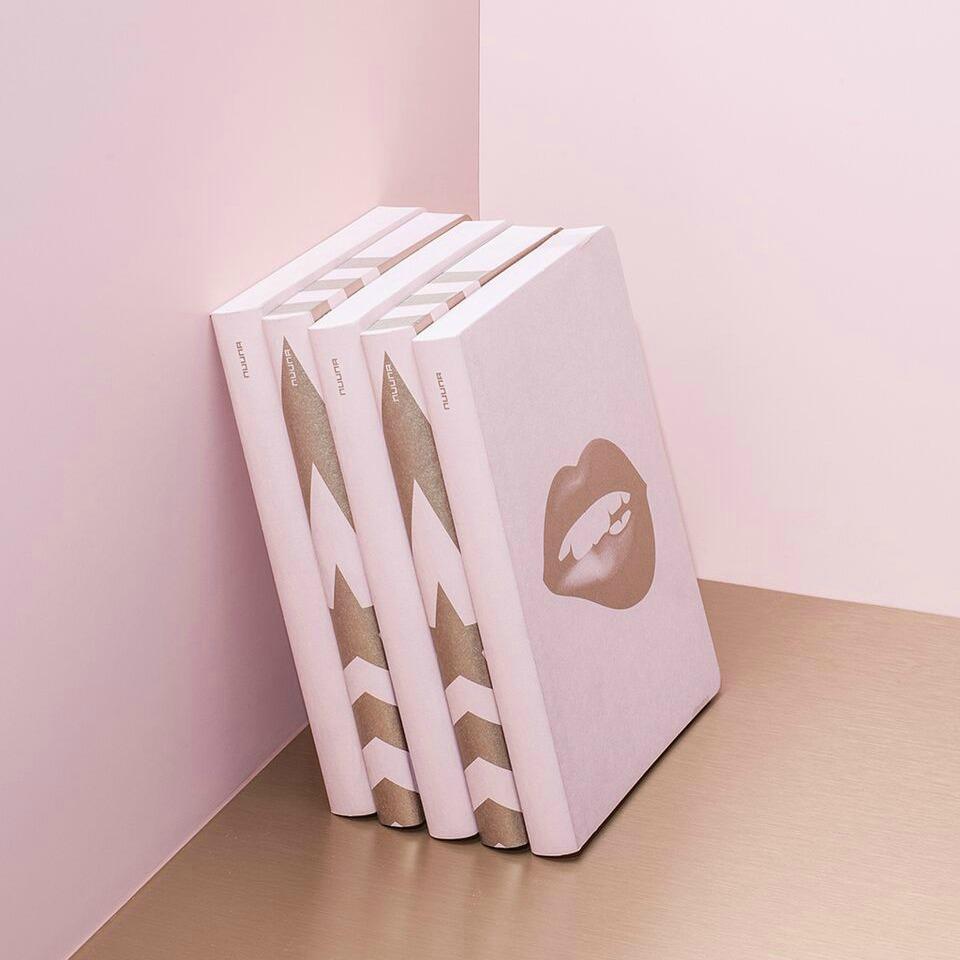 Geschenke zum Muttertag - Notizbuch Glossy Lips von nuuna